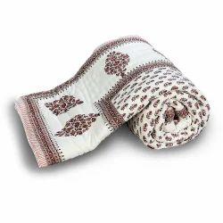 Jaipuri Cotton Double bed Quilt 327