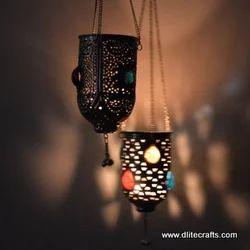 Glass Metal Hanging Lamps