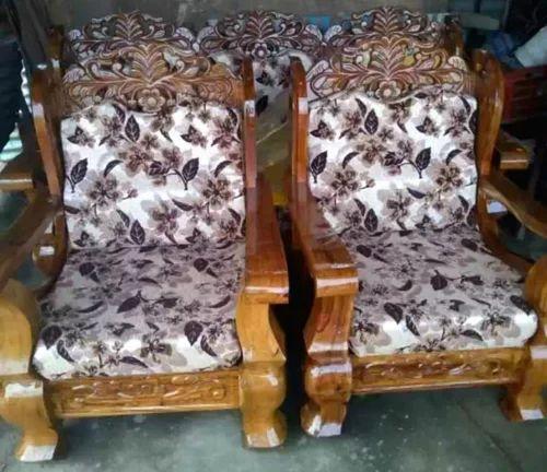Kings Teak Wood Colour Teak Wood Sofa Sets Latest Carvings Designed