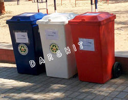 Sintex Waste Bin With Wheels