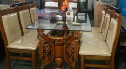 1  6 Dinning Table Full Teak