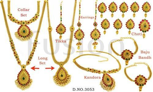 Traditional Bridal Jewelry Set Bridal Sets Abdul Rehman Street