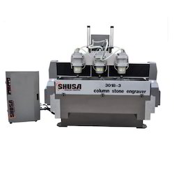 3018-3 Column Stone Engraving Machine