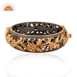 Indian Designer Diamond Bangle