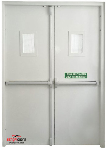 Panic Bars Double Leaf Doors Door Panic Bars