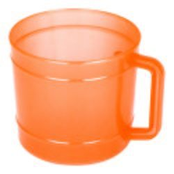 Frosty-1250 Plastic Close Handle Mugs