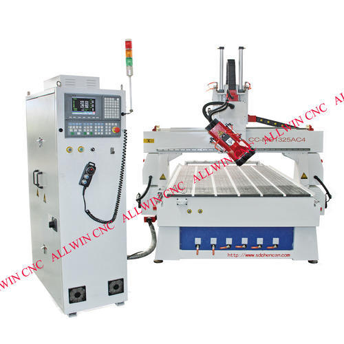 Auto Tool Changer Center - 4-axis Linear Auto- Tool Changer