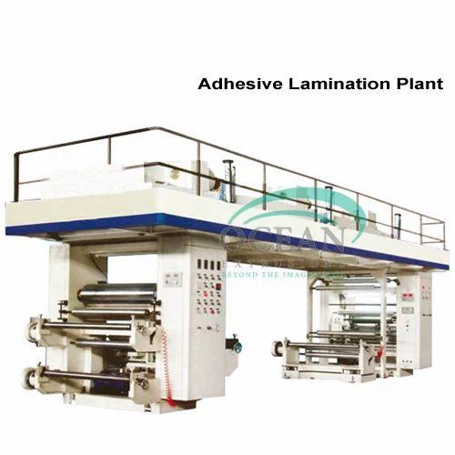Extrusion Coating Lamination Plant - Adhesive Lamination
