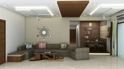 Drawing Room Interior Design Services in Mira Road, Mumbai, National ...
