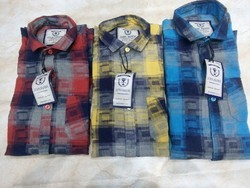 M.m.l Cotton Check Shirts
