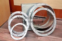 Round Ducting MS Flat Rings