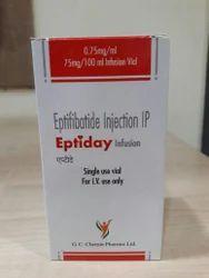 Finished Pharmaceutical Product Liquid Eptifibatide Injection