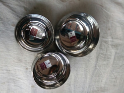 Steel Bowl Set