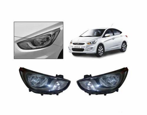 Hyundai Verna Fluidic Headlight Assembly ह डल इट
