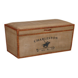Seating Cum Storage Box Vintage Trunk Box