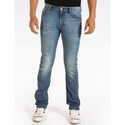 Men's Narrow Jeans In Cotton