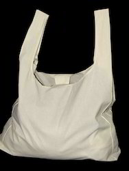 Recycled Organic Canvas Plastic Shaped Shopping Bag