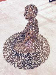 Sculpture Men Laser Cutting Services