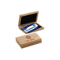 Corporate Wooden Card Holder