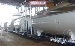 Skid Type LPG Cylinders Filling Plant