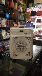 Boss bag Cream Leather Suitcase
