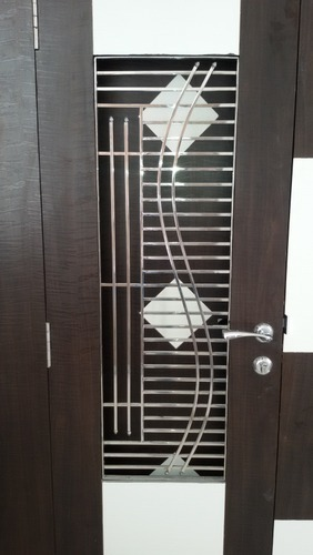 Ss grill ss main door grill manufacturer from ahmedabad Main entrance door grill