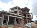 Concrete Frame Structures And Steel Frame Structures 25 Residential Bungalow Building Construction Services, Jhansi