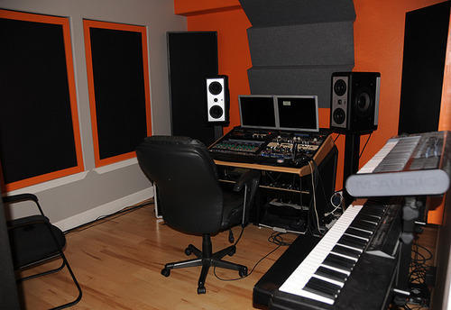 Acoustic treatment interior of studios in rohini delhi - Bedroom studio acoustic treatment ...