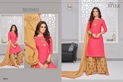 Embroidery Palazzo Salwar Suit
