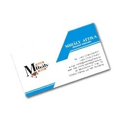 business visiting card view specifications details of business