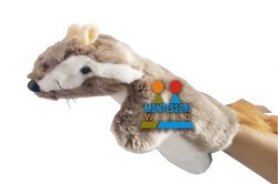 Squirrel Glove Hand Puppet