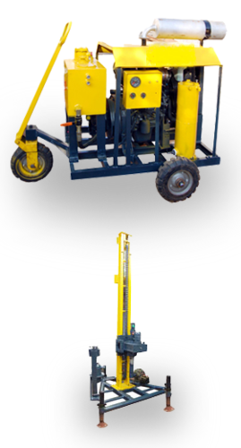 Portable Water Well Drilling Rig - Balaji Engineering