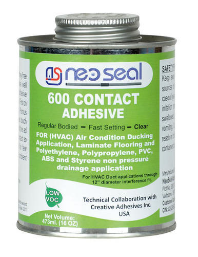 Neoseal Industrial Grade 600 contact adhesive, 25 and 59