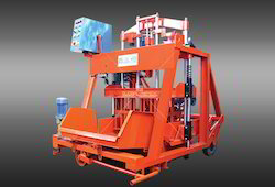 Movable Type Concrete Block Making Machine
