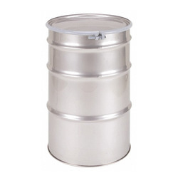 0.7-1.5 Mm Stainless Steel Oil Drums, For Pharmaceutical / Chemical Industry, Capacity: 5-250 L
