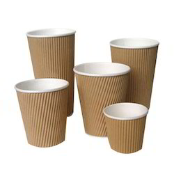 Paper Plain Coffee Cup Ripple, Usage: Office