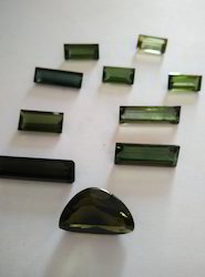 Natural Green Tourmaline Stone