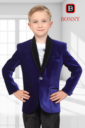 Purple Velvet Blazers