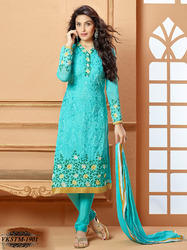 Georgette Embroidery Dress Material