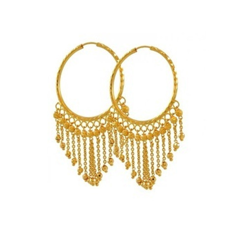 Golden Bali at Rs 3000 gram Golden Earring ID 12894242812