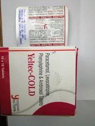 Levoceterizine Ambroxol Paracetamol Phenylephrine Tablets