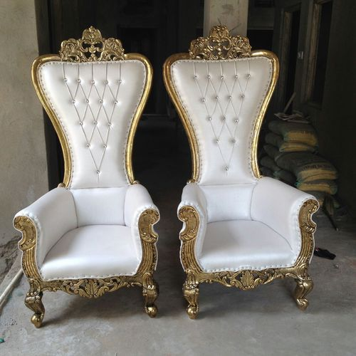 Fabulous Silver Wedding Throne Chair Beutiful Home Inspiration Ommitmahrainfo