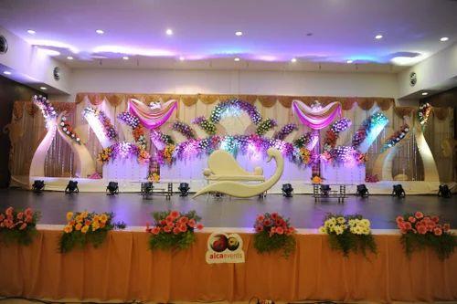 Star Decoration Service Provider Of Wedding Stage Decoration
