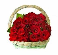 Flower Arrangement Lilliputian Rosy Basket