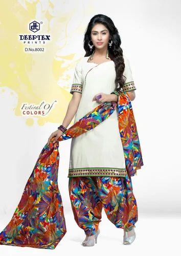 cc0123eedb Deeptex-pichkari Cotton Dress Material at Rs 399 /piece | Begampura ...