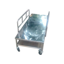 Stainless Steel Fowler Bed With Wheel
