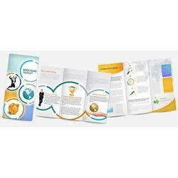 Three Folding Corporate Brochure Printing Services