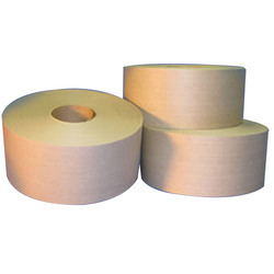 Brown Water Activated Tape, Packaging Type: Box