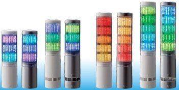 patlite warning lights buzzers revolite signal tower. Black Bedroom Furniture Sets. Home Design Ideas