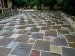 Multicolor Paving Stones